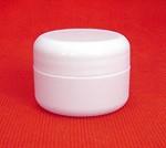 1/2 oz. plastic jar & twist lid - Product Image