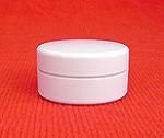 1/8 oz. plastic jar & twist lid (lip balm) - Product Image