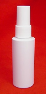 2 oz. plastic bottle with spray-top - Product Image