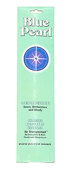 Blue Pearl Cedarwood Incense - .7 oz. - Product Image