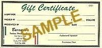 $20 Gift Certificate - Product Image
