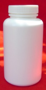 300 cc plastic bottle with lid - Product Image