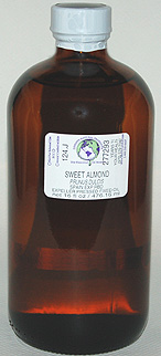 Almond Oil (Sweet) - 16 oz. (glass) - Product Image
