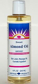 Almond Oil (Sweet) - 8 oz. (plastic) - Product Image