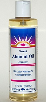 Almond Oil (Sweet) - 8 oz. (plastic) - Product Image
