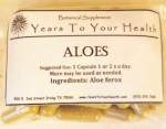 Aloes Capsules - Product Image