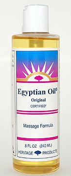 Aura Glow Massage Oil, Egyptian Oil Original - 8 oz. - Product Image