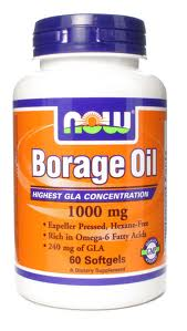 NOW - BORAGE OIL 1000 mg - Product Image