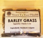 Barley Grass Capsules - Product Image