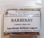 Barberry Capsules - Product Image