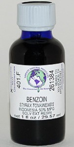 Benzoin Liquid Resin 50% MPG - 1 oz. - Product Image