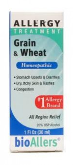 Bio Allers Grain & Wheat Allergy Relief - 1 oz. - Product Image
