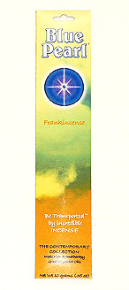 Blue Pearl Frankincense Incense - .35 oz. - Product Image