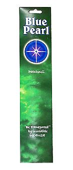 Blue Pearl Patchouli Incense - .35 oz. - Product Image