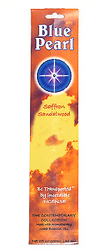 Blue Pearl Saffron Sandalwood Incense - .35 oz. - Product Image