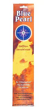 Blue Pearl Saffron Sandalwood Incense - .35 oz. - Product Image