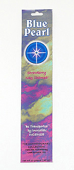 Blue Pearl Strawberry Nag Champa Incense - .35 oz. - Product Image