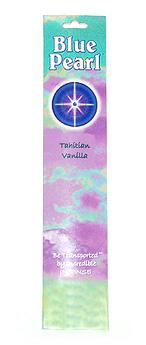 Blue Pearl Tahitian Vanilla Incense - .35 oz. - Product Image