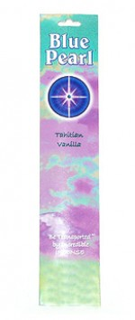 Blue Pearl Tahitian Vanilla Incense - .35 oz. - Product Image