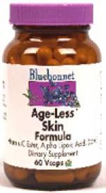 Bluebonnet Age-Less Skin Formula - 60 vcaps - Product Image