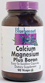 Bluebonnet Calcium Magnesium Plus Boron - 90 vcaps - Product Image