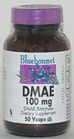 Bluebonnet DMAE 100 mg. - 50 vcaps - Product Image