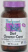 Bluebonnet Diet Chrome-Care - 60 vcaps - Product Image