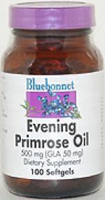 Bluebonnet Evening Primrose Oil 500 mg. - 100 softgels - Product Image