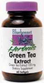 Bluebonnet Green Tea Leaf Extract Softgels - 60 softgels - Product Image
