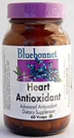 Bluebonnet Heart Antioxidant - 60 vcaps - Product Image