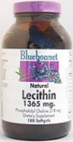 Bluebonnet Lecithin 1365 mg. Softgels - 180 softgels - Product Image