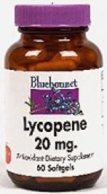 Bluebonnet Lycopene 20 mg. Softgels - 60 softgels - Product Image