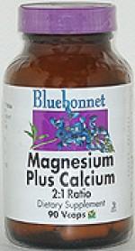 Bluebonnet Magnesium Calcium Plus 2:1 Ratio - 90 vcaps - Product Image