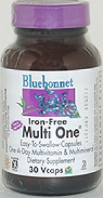Bluebonnet Multi One (Iron Free) - 30 vcaps - Product Image