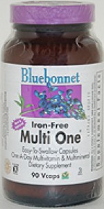 Bluebonnet Multi One (Iron Free) - 90 vcaps - Product Image