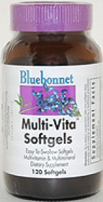 Bluebonnet Multi-Vita Softgels - 120 softgels - Product Image