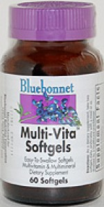 Bluebonnet Multi-Vita Softgels - 60 softgels - Product Image
