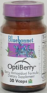 Bluebonnet Optiberry Antioxidant - 30 vcaps - Product Image