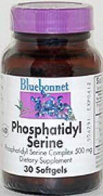 Bluebonnet Phosphatidyl Serine Complex 500 mg. Softgels  - 30 softgels - Product Image