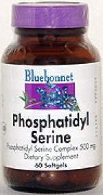 Bluebonnet Phosphatidyl Serine Complex 500 mg. Softgels - 60 softgels - Product Image