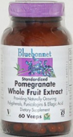 Bluebonnet Pomegranate Whole Fruit Extract  - 60 vcaps - Product Image