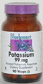 Bluebonnet Potassium 99 mg. - 90 vcaps - Product Image