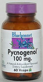 Bluebonnet Pycnogenol 100 mg. - 60 vcaps - Product Image
