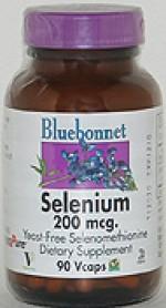 Bluebonnet Selenium 200 mcg.  - 90 vcaps - Product Image