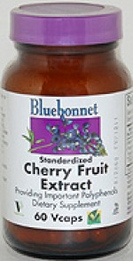 Bluebonnet Standardized Cherry Fruit Extract - 60 vcaps - Product Image