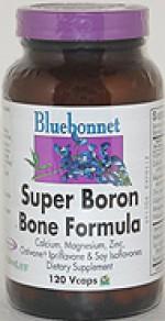 Bluebonnet Super Boron Bone Formula - 120 vcaps - Product Image