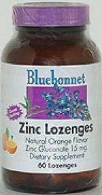 Bluebonnet Zinc Lozenges - 60 lozenges - Product Image