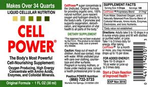 Cell Power 1 oz - Product Image