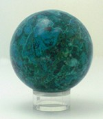 Chrysocolla Sphere - Product Image