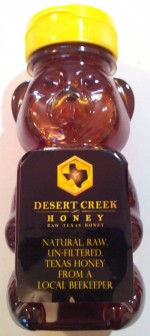 Desert Creek Honey, RAW Texas Honey - 8 oz. - Product Image